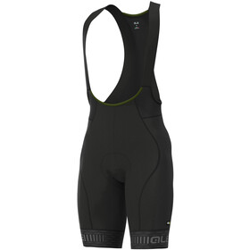 Alé Cycling Graphics PRR Green Road Bib Shorts Heren, black/charcoal grey